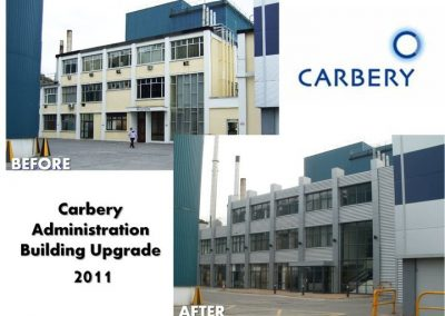 Carbery 2011 admin offices facelift